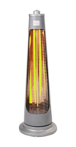 Parasol Chauffant Électrique 900W Pyramide IPX4 Chauffage DE Terrasse