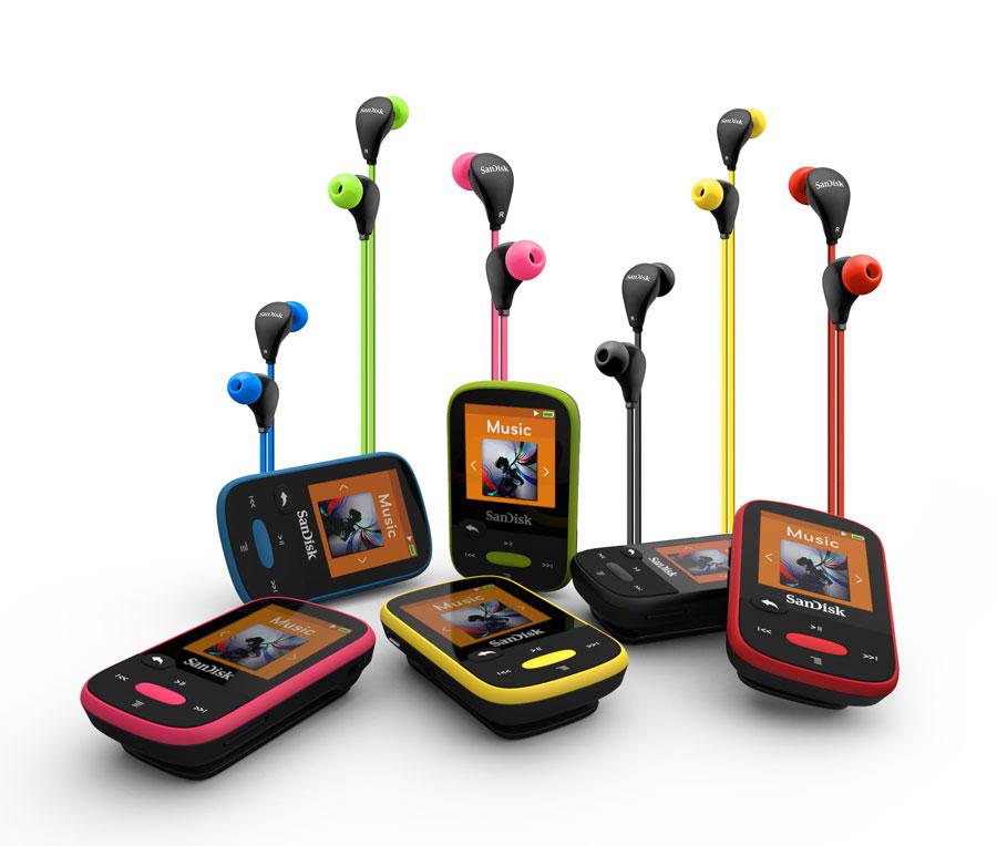 Sport 8 Go Noir (SDMX24 008G G46K): Lecteurs MP3 & Casques