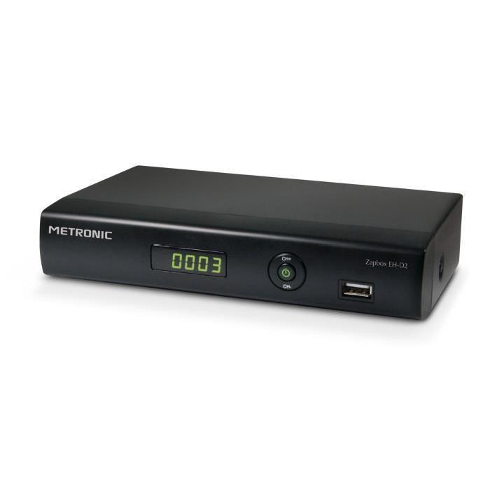 METRONIC Zapbox EH D2 Récepteur/enregistreur TNT HD récepteur