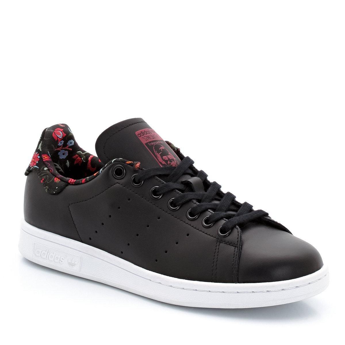 lacets, détails motif fleuri, stan smith w Adidas Soldes