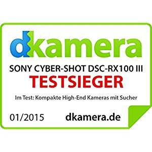 Sony DSC RX100M3 Appareil Photo Expert Large Capteur 1» CMOS Exmor R