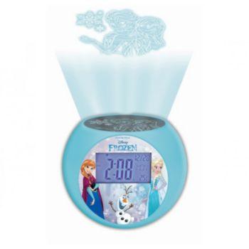 Lexibook Projecteur Disney La Reine des neiges RL Réveil Radio