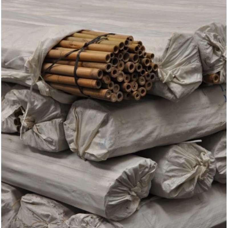 tuteur pour plante grimpante façon bambou naturel 1,5 m (vendu par 5