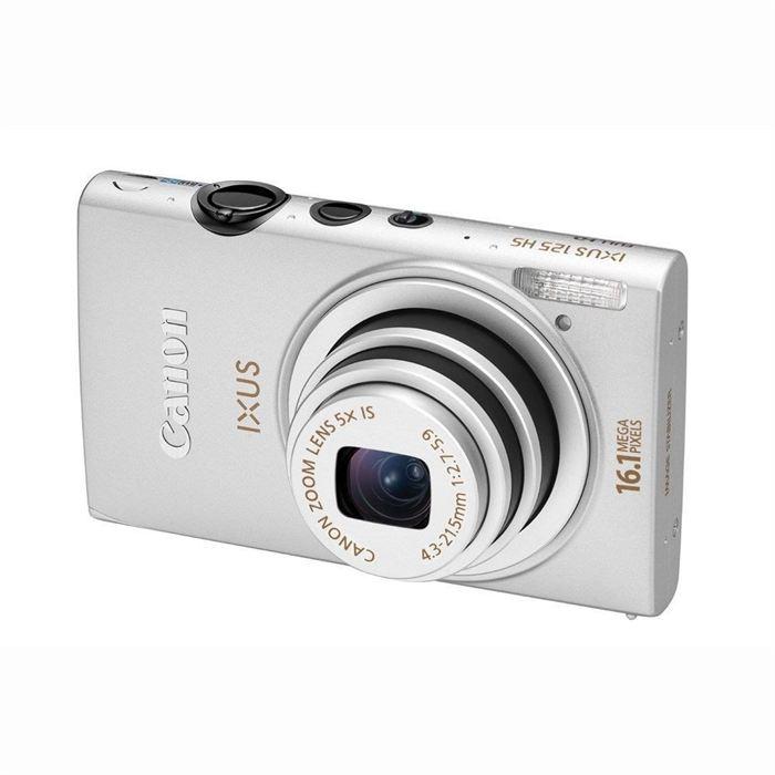 Appareil photo numérique CANON IXUS 125 Silver Achat / Vente