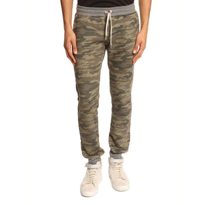 Pantalon de jogging camouflage Slim Kaki Achat / Vente survêtement