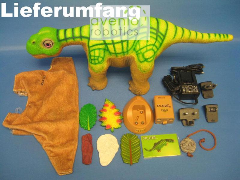 Pleo rb (reborn) dinosaure, le robot Dino! afficher le