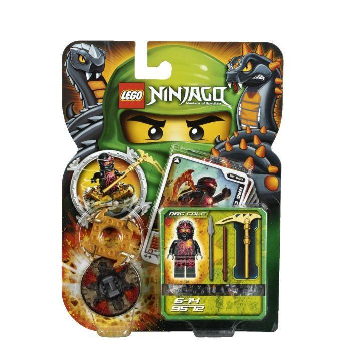 Lego Ninjago Toupies NRG Cole Achat / Vente assemblage construction
