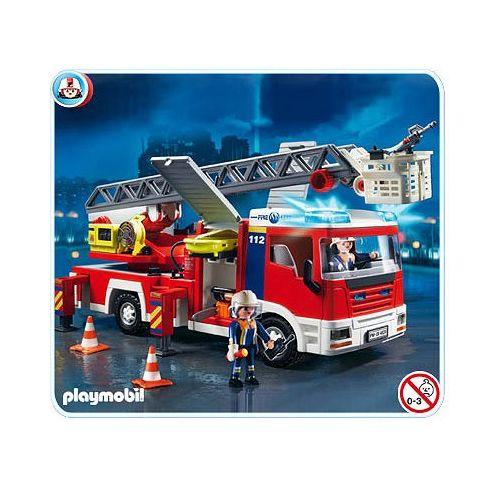 Playmobil Camion de pompiers grande échelle 4820 pas cher Achat
