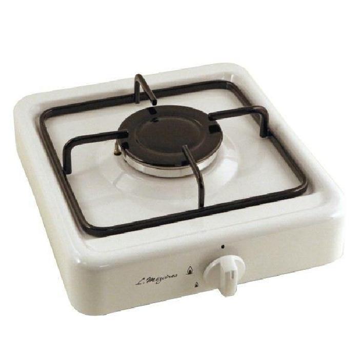 Platine de cuisson gaz 1 feu L.Mézières 2700 W Blanc Achat