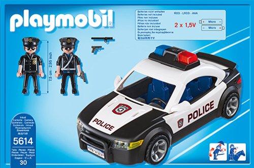 Playmobil 5614 CITY ACTION Voiture de police véhicule