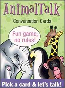 Animal Talk: Conversation Cards U S Games Systems