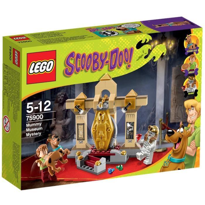 LEGO® Scooby Doo 75900 Le Mystère du Musée de la Momie Achat
