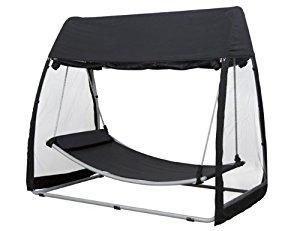 hamac avec support 2 places topiwall. Black Bedroom Furniture Sets. Home Design Ideas