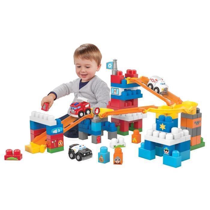 Mega Bloks First Builders Équipe de secours Fast Tracks Achat