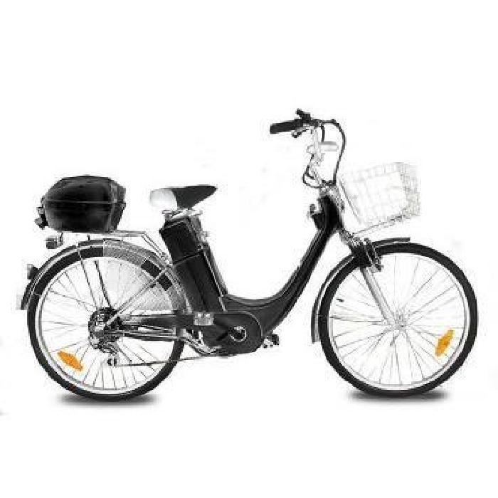 Vélo électrique E GO CITY BIKE 250W Noir Achat / Vente vélo