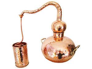 Distillerie pour bricoleur: alambic Classico, 5 litres, hartverlötet