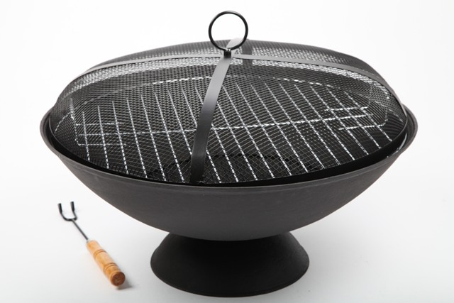 Point Garden Vasque À FEU 56cm Barbecue Barbecue DE Jardin FER Forgé
