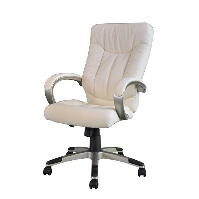 MANAGER Fauteuil de bureau Ivoire Achat / Vente chaise de bureau