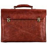 LE LUNDI porte documents en cuir souple attaché case PAUL MARIUS
