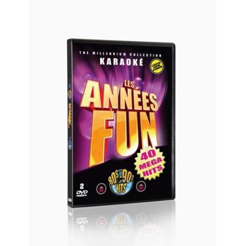 Hke Les AnnÉES Fun KARAOKÉ 2 Dvd Coffret De 2DVD Edition simple