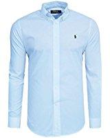 Chemise manches courtes Ralph Lauren blanche en lin pour homme Blanc