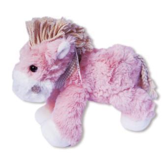 peluche cheval de montagne rose animal en peluche soyez le premier à