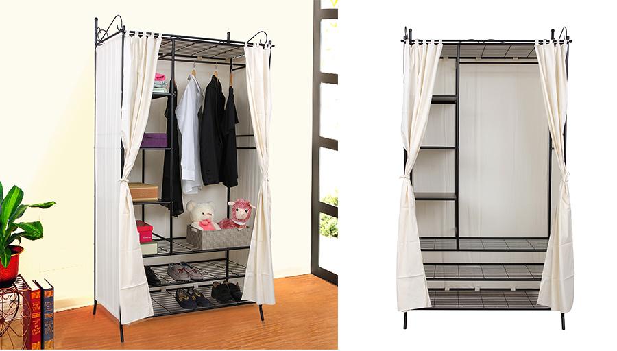 penderie tissu topiwall. Black Bedroom Furniture Sets. Home Design Ideas