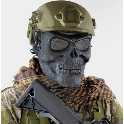 Masque De Protection Du Visage «Crane, Tête De Mort