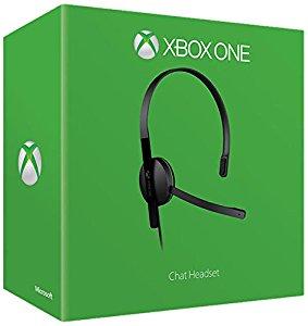 Microsoft Xbox One Chat Headset: Jeux vidéo