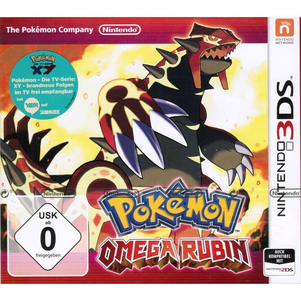 Pokemon Omega Rubin komplett in Deutsch für Nintendo 3DS (XL) 2DS