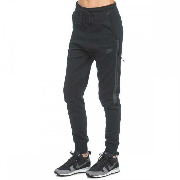Pantalon de survêtement Nike Tech Fleece Ref. 683800 010 Noir Noir