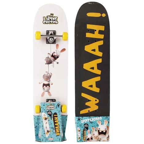 SkateBoard Lapins Crétins DARPEJE pas cher à prix