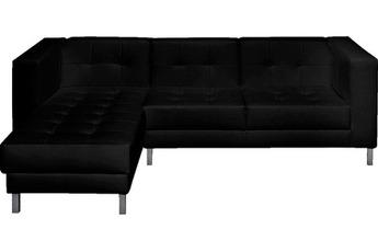 Canapé d'angle Canapé d'angle gauche Switsofa Manfield Noir Switsofa