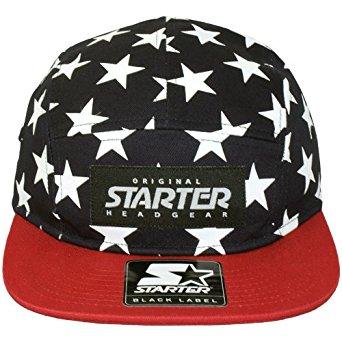 Starter Casquette 5 Panel Homme Stars Cap Navy Red