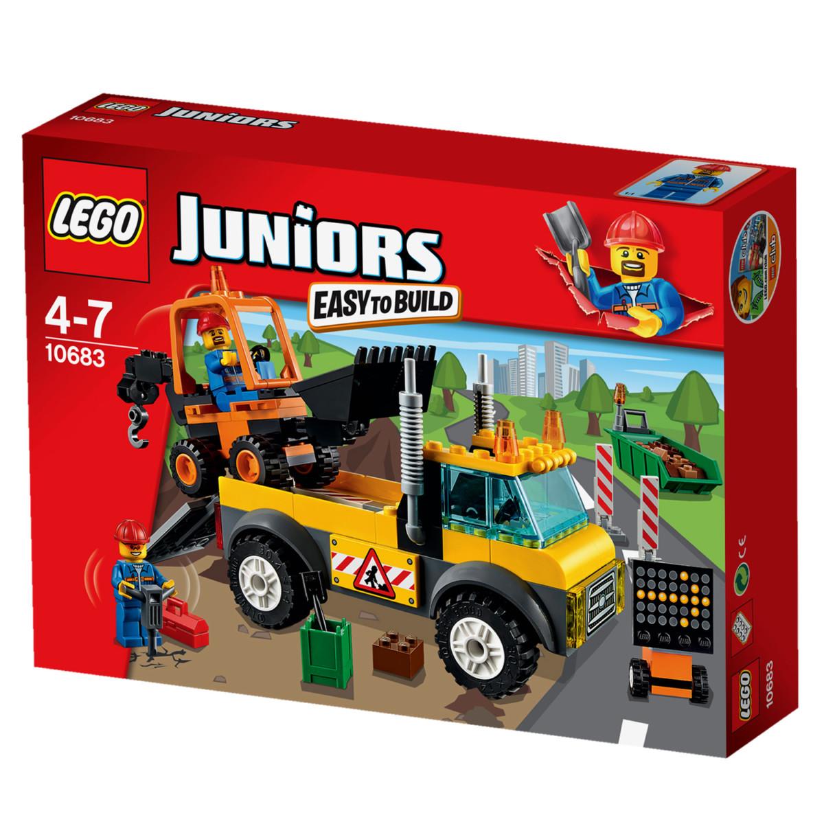 lego 10683 juniors le camion de chantier 18998 référence lego 10683