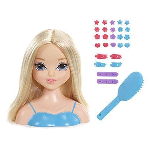 Mga Moxie Girlz Magic Hair Salon Avery TÊTE À Coiffer 18 Cm