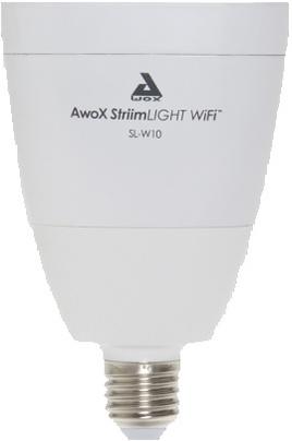 Questions / Réponses Ampoules connectées Awox STRIIM LIGHT WIFI SL