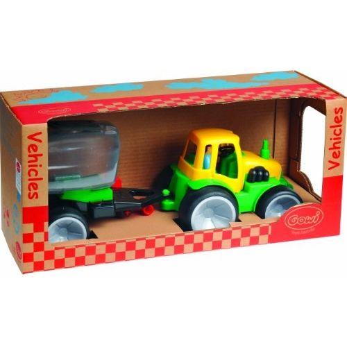 Gowi 561 09 Jouet D'ÉVEIL Tracteur + Citerne pas cher Achat