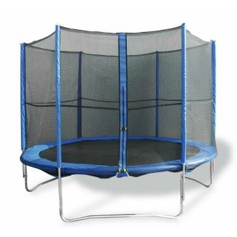 trampoline de 244 cm avec filet de protection marc trampoline