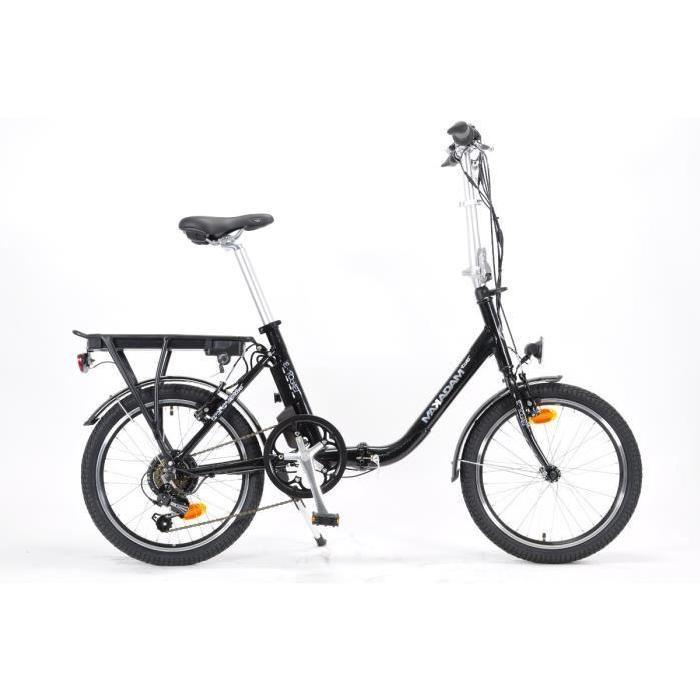 MAKADAM Vélo Electrique Pliant E POCKET 36V/6,45Ah Prix pas cher