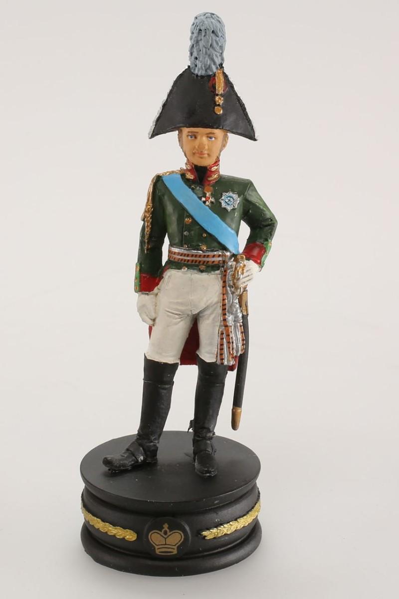 Napoléon jeux d'échecs de collection : Tsar Alexandre 1/32