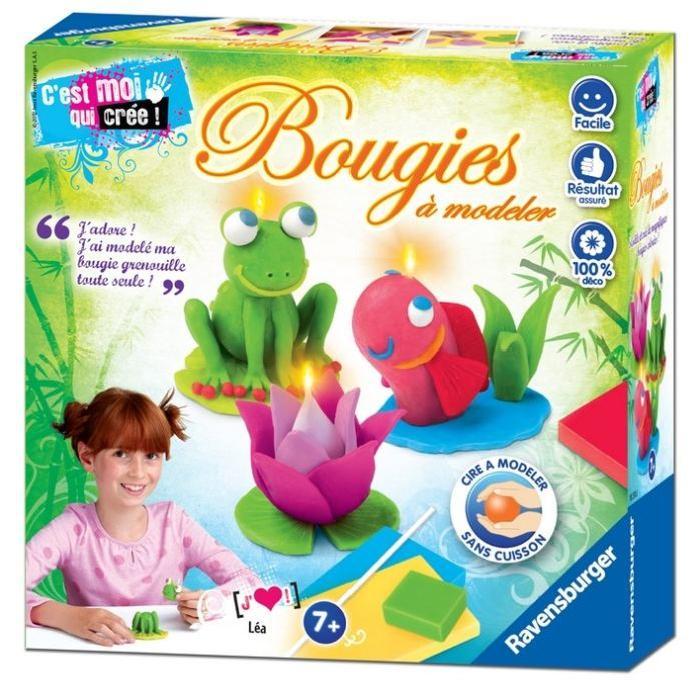 Vente kit de création bougie Bougies animaux à modeler