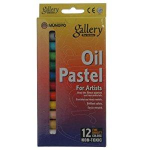 Oz International craie Pastel A L'huile Fluorescent Boite De 12