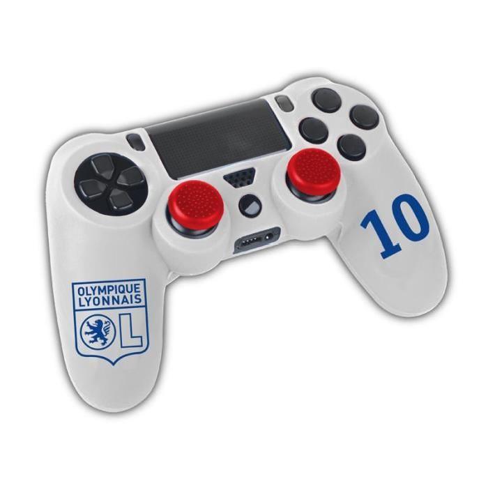 Kit Pour Manette PS4 Olympique Lyonnais Achat / Vente housse de