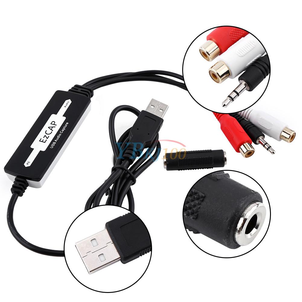 Numérique Enregistreur Audio Bande à PC Convertisseur Support MP3