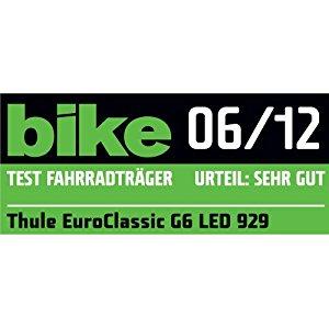Thule Euroclassic G6 LED 929 Porte vélo attache remorque