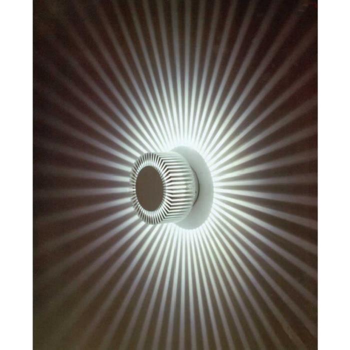 Applique murale pour lumière d'ambiance LED COB type