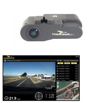 Dashcam boîte noire Roadhawk DC 2 caméra HD 1080p avec GPS et