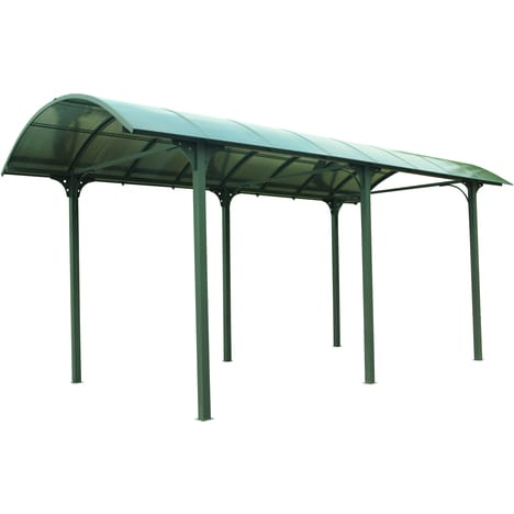Carport aluminium Camping Car Wikipoo / 27.51 m² pas cher à prix