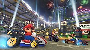 Console Nintendo WII U 32 GO Noire Mario Kart 8 Préinstallé Premium